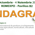 Indagra exhibition in Romania from 31/10 to 04/11 2018 1