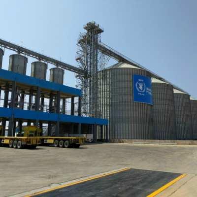 Gibuti: Il primo impianto di stoccaggio per grano delle Nazioni Unite della capacità totale di 40.000 tons - foto 1